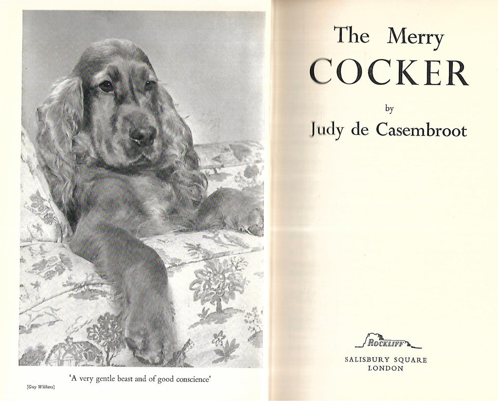 The Merry Cocker | Judy de Casembroot