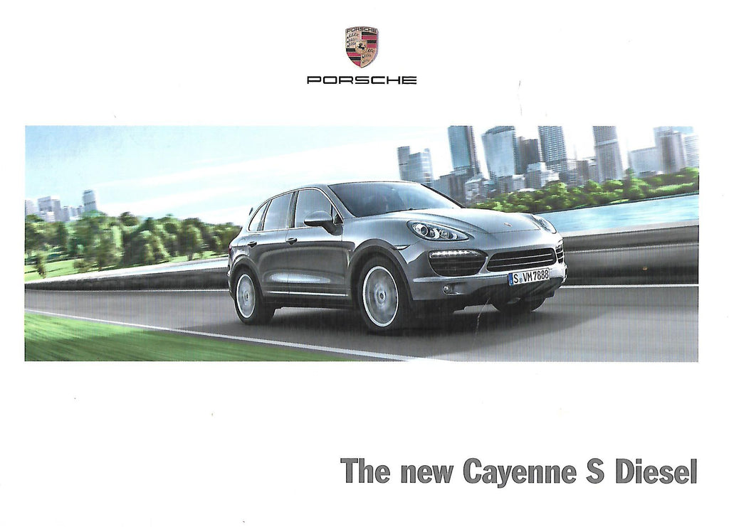 The New Cayenne S Diesel (Brochure)