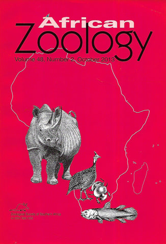African Zoology (Vol. 48, No. 2, October 2013)