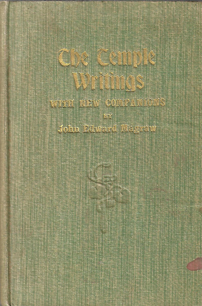 The Temple Writings, With New Companions | John Edward Mcgraw