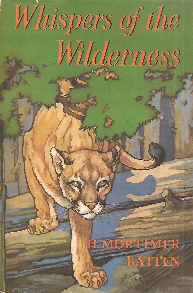 Whispers of Wilderness: Tales of Wild Life in the Canadian Forests | H. Mortimer Batten