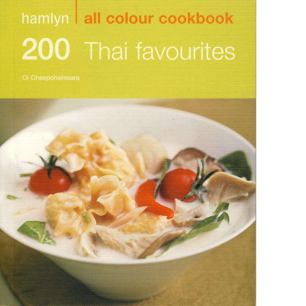 Bookdealers:200 Thai Favourites | Oi Cheepchaiissara