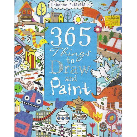 365 Things To Draw And Paint: Activity Cards Spiral Bound Edition (Art Ideas) | Fiona Watt