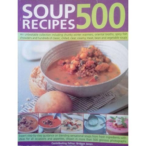 500 Soup Recipes | Bridget Jones (Ed.)