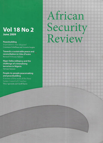 African Security Review (Vol. 18, No. 2, June 2009)