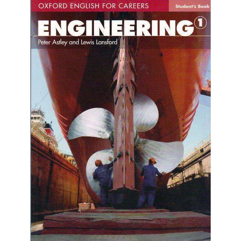 Bookdealers:Engineering 1: Students Book (Oxford English For Careers) | Peter Astley and Lewis Lansford