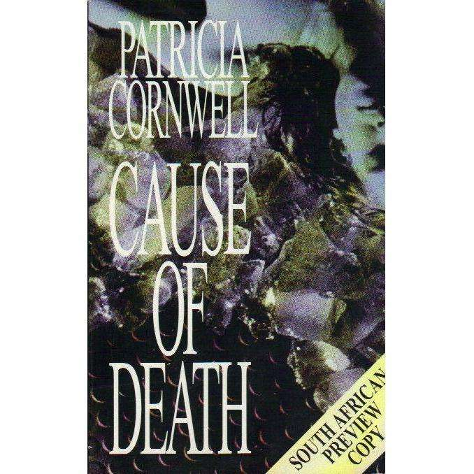 Bookdealers:Cause of Death | Patricia Cornwell (South African Preview Copy)
