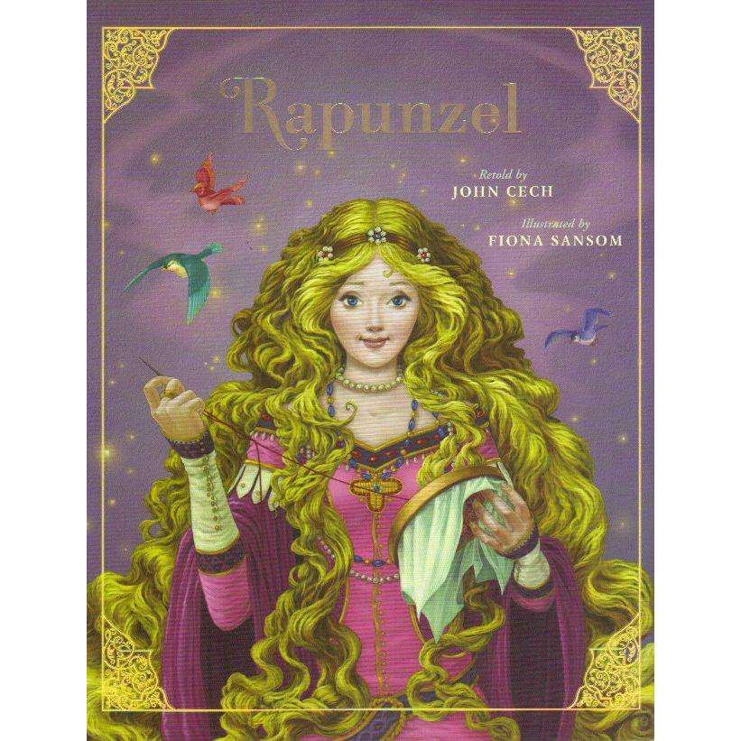 Bookdealers:Rapunzel (Classic Fairy Tale Collection) | Retold by John Cech