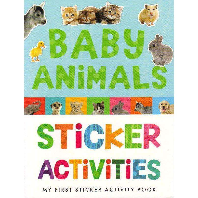 Bookdealers:Baby Animals Sticker Activities: My First Sticker Book | Annette Rusling