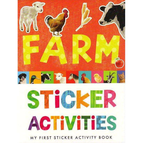 Farm Sticker Activities: My First Sticker Book | Annette Rusling
