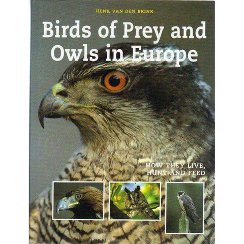 Birds of Prey and Owls in Europe: How They Live, Hunt and Feed | Henk Van Den Brink