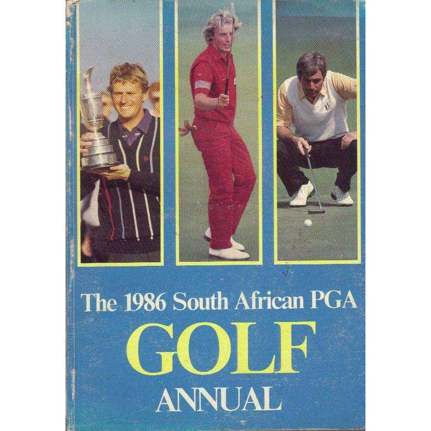 Bookdealers:The 1986 South African PGA Golf Annual | Adrian Fredericks