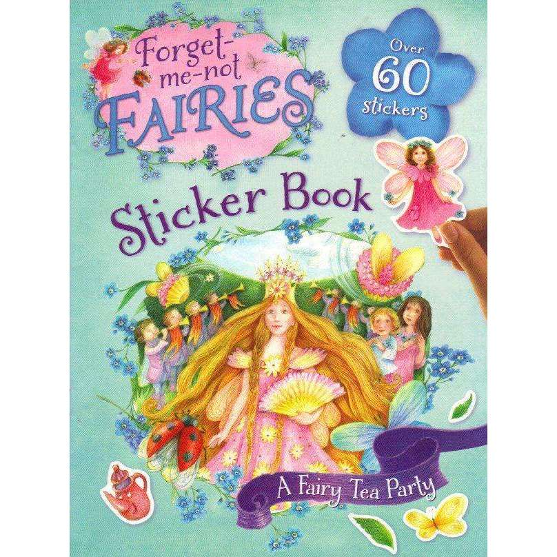 Bookdealers:Forget-me-not Fairies Sticker Book: A Fairy Tea Party | Patricia MacCarthy, Jo Blake and Catharine Collingridge
