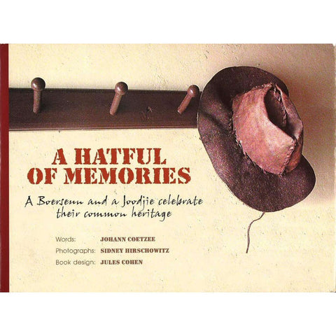 A Hatful of Memories (Inscribed) | Johann Coetzee