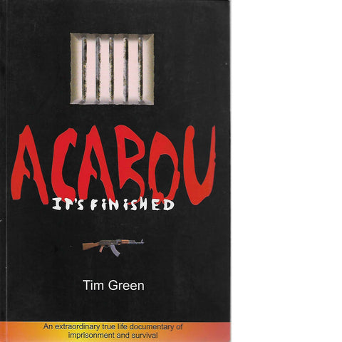 Acabou (Inscribed) | Tim Green