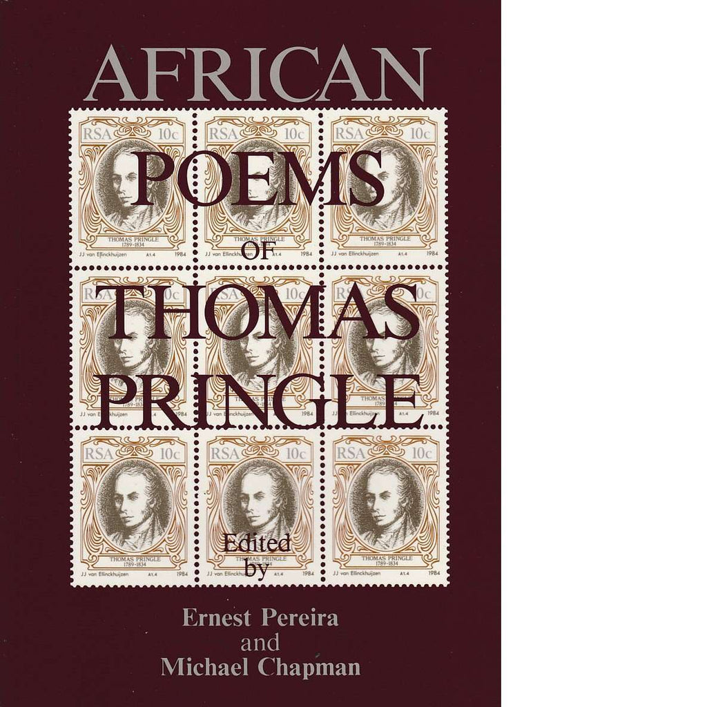 Bookdealers:African Poems of Thomas Pringle | Thomas Pringle