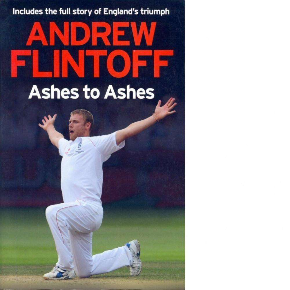 Bookdealers:Ashes to Ashes | Andrew Flintoff