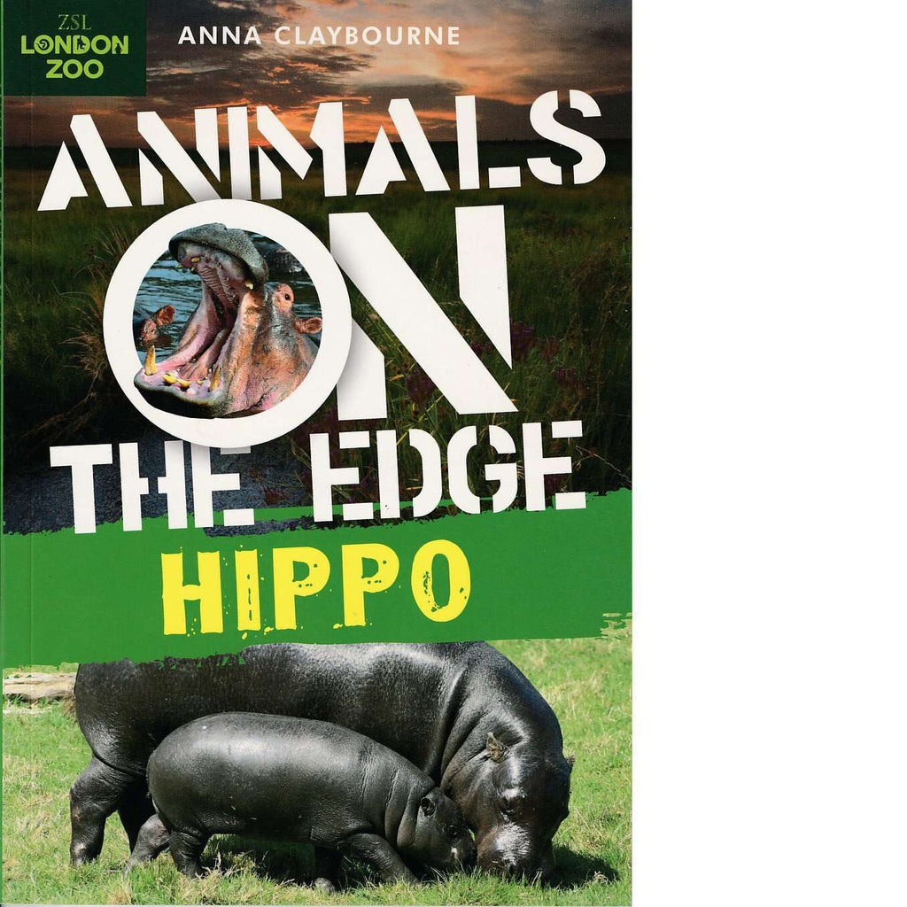 Bookdealers:Animals on the Edge: Hippo | Anna Claybourne