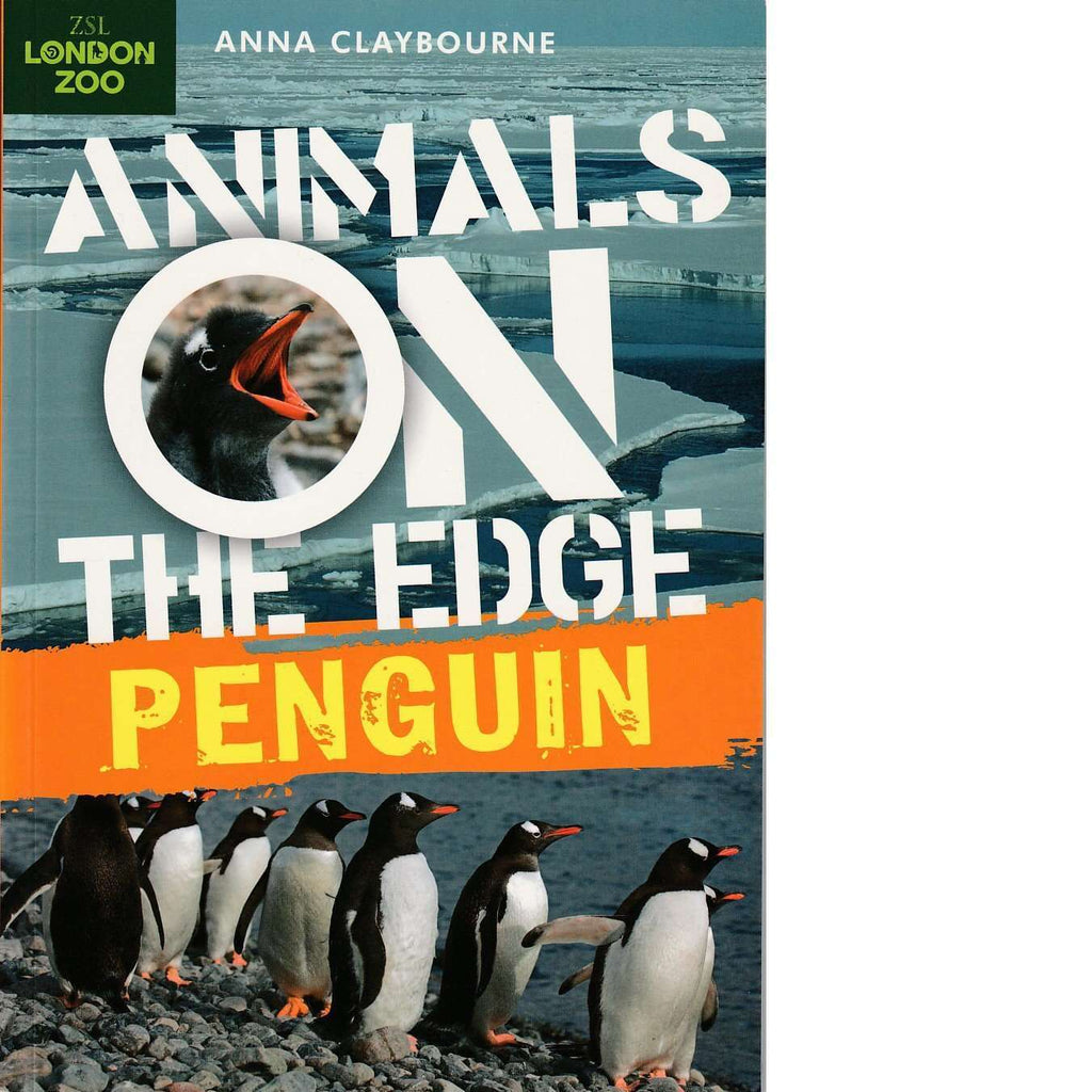 Bookdealers:Animals on the Edge: Penguin | Anna Claybourne