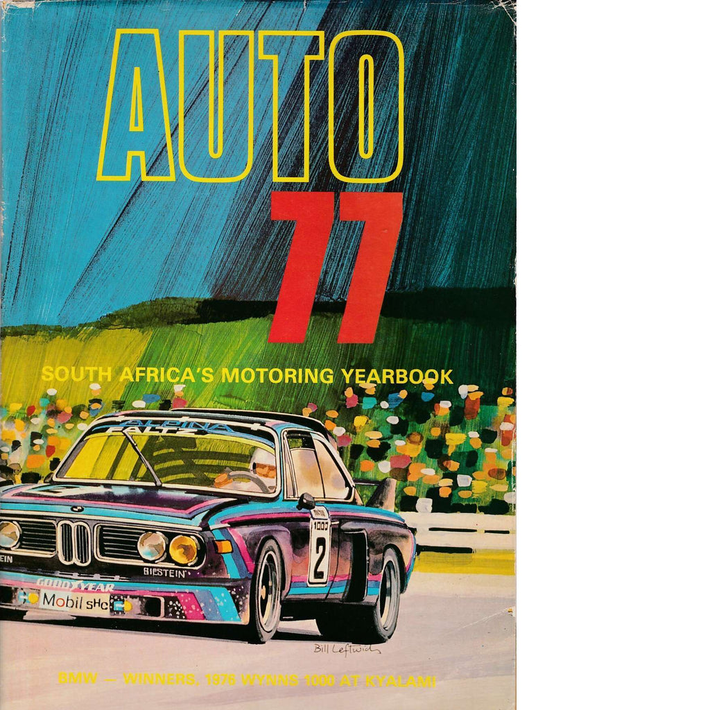 Bookdealers:Auto 77: South Africa's Motoring Yearbook | Shaun Perkins
