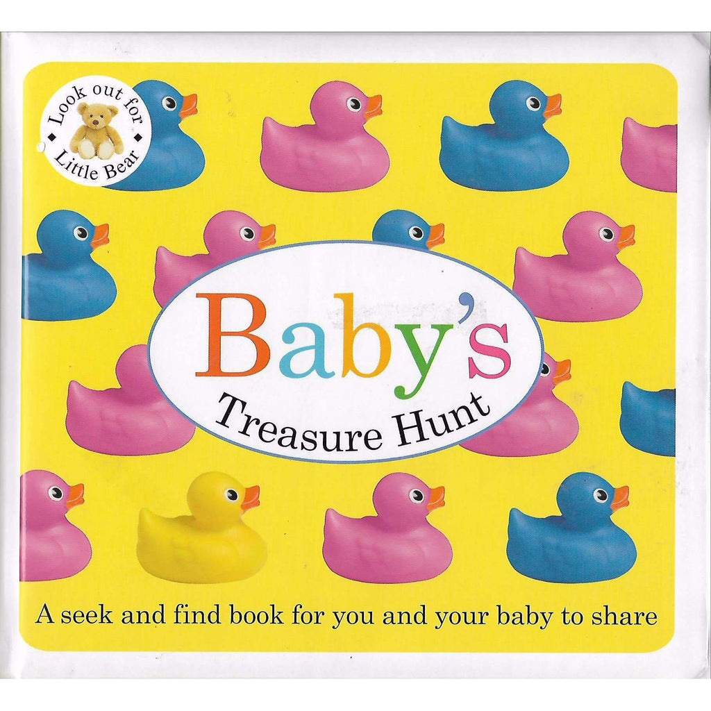 Bookdealers:Baby's Treasure Hunt | Priddy Books