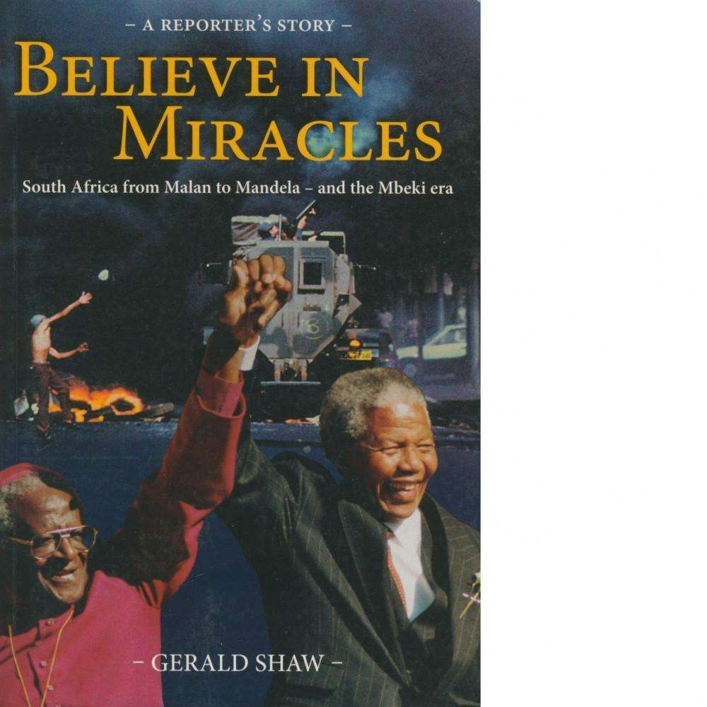 Bookdealers:Believe in Miracles | Gerald Shaw