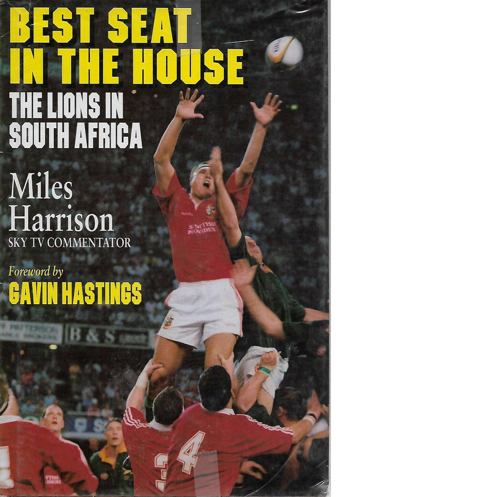 Bookdealers:Best Seat in the House: The Lions in South Africa | Miles Harrison