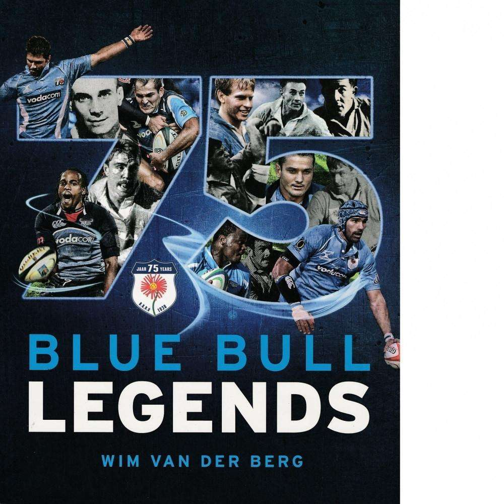 Bookdealers:75 Blue Bull Legends | Wim van der Berg