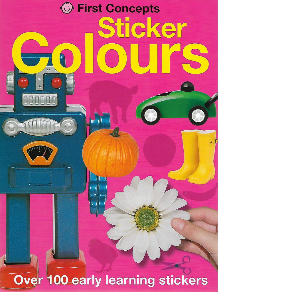Bookdealers:Sticker Colours | Priddy Books