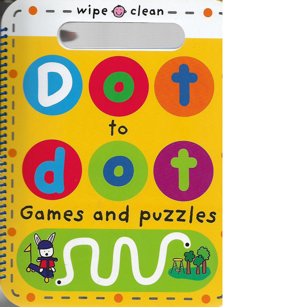 Bookdealers:Wipe Clean: Dot to Dot Games and Puzzles | Priddy Books