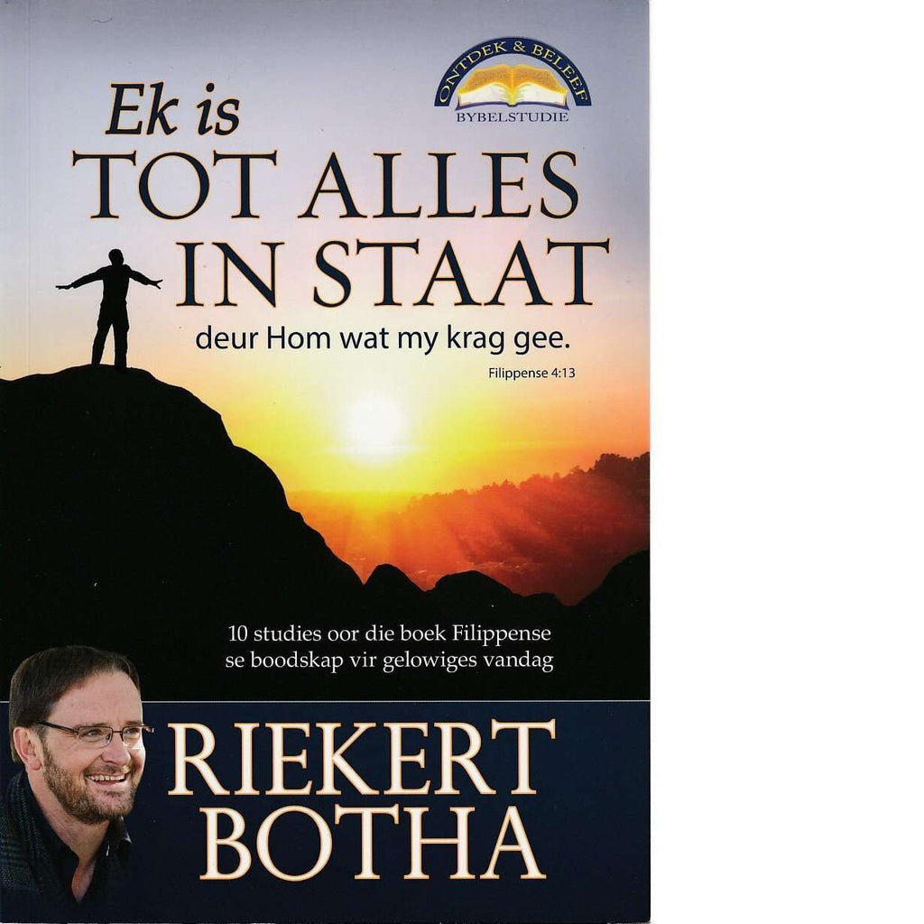 Bookdealers:Ek Is Tot Alles in Staat | Riekert Botha