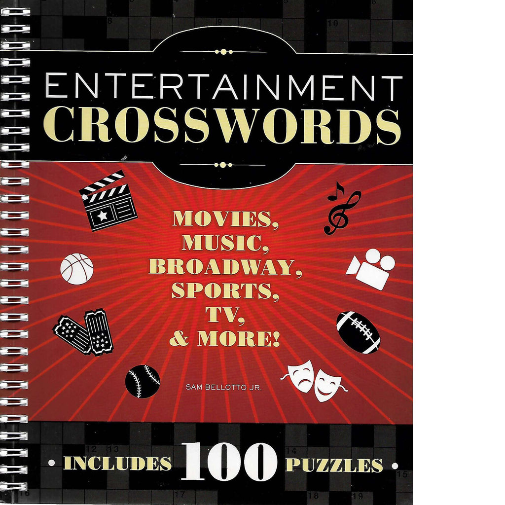 Bookdealers:Entertainment Crosswords: Movies, Music, Broadway, Sports, TV and More | Sam Bellotto Jr.