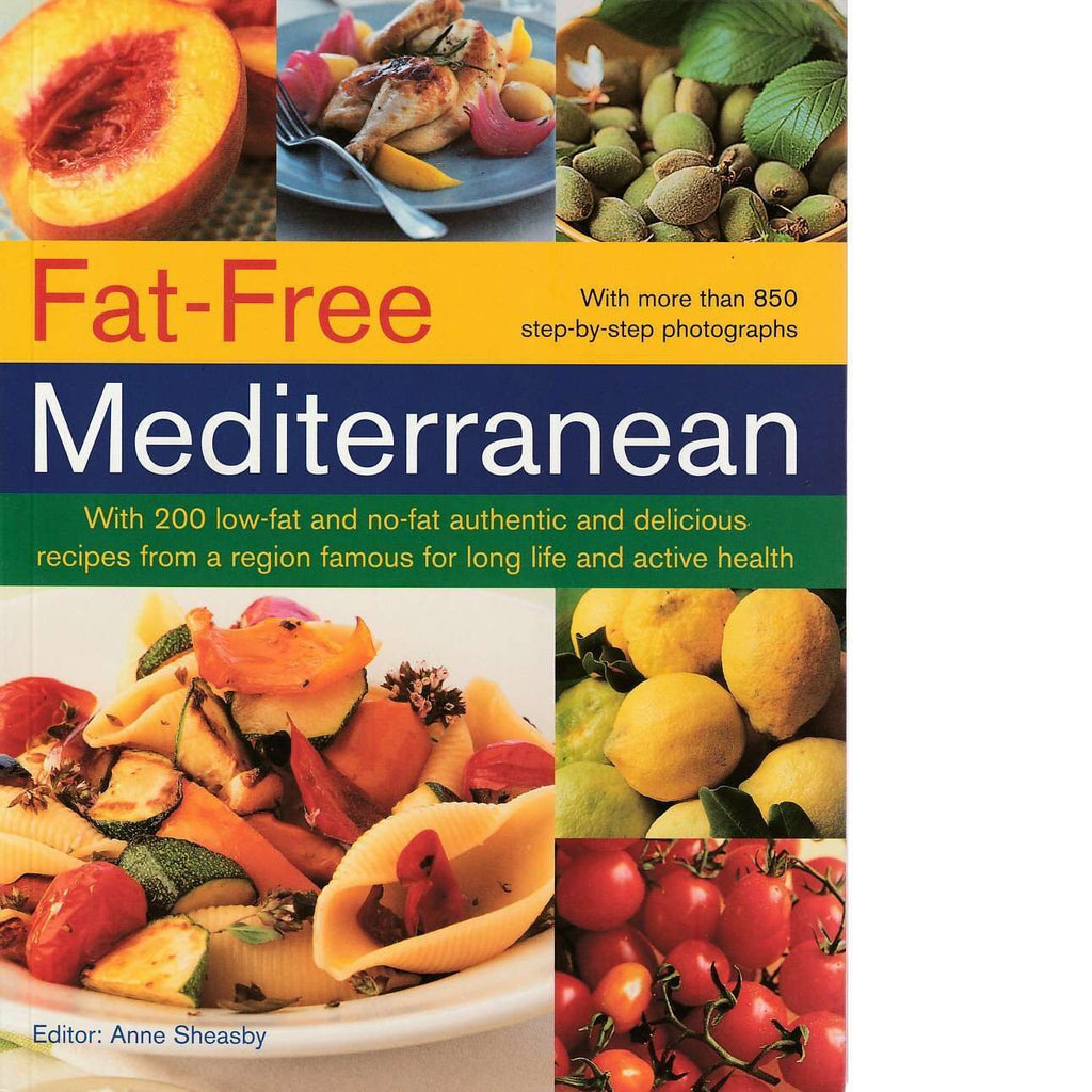 Bookdealers:Fat-Free Mediterranean | Anne Sheasby