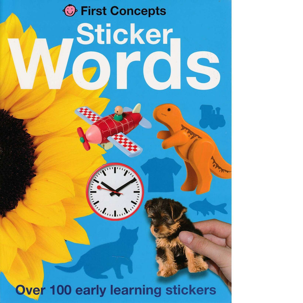 Bookdealers:First Concepts: Sticker Words