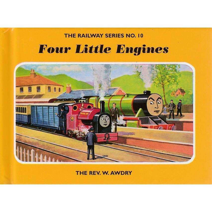 Bookdealers:Four Little Engines | Reverend W. Awdry