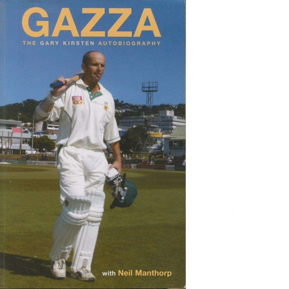 Bookdealers:Gazza | Gary Kirsten and Neil Manthorp