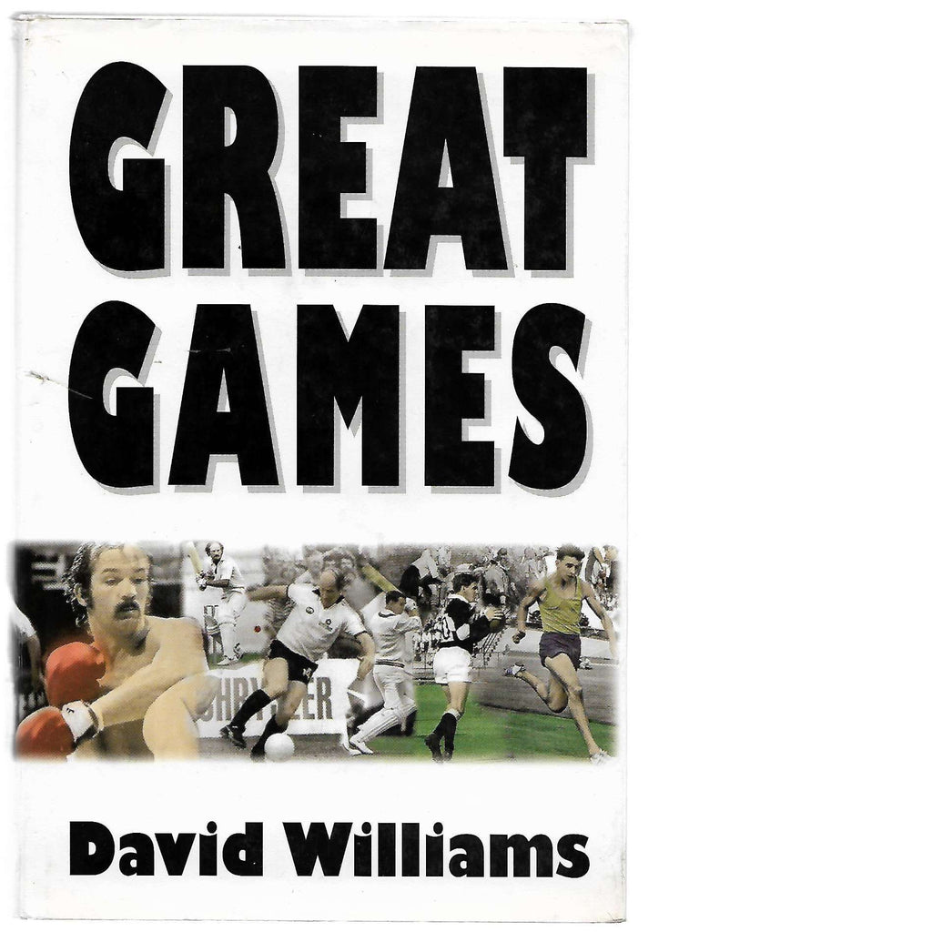 Bookdealers:Great Games (Inscribed) | David Williams
