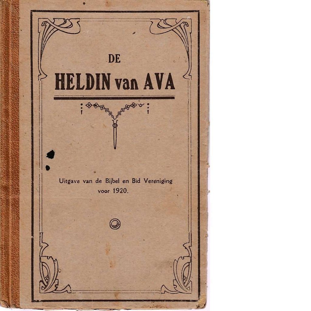 Bookdealers:De Heldin Van Ava (Dutch Edition) | Ds. Geo. Murray