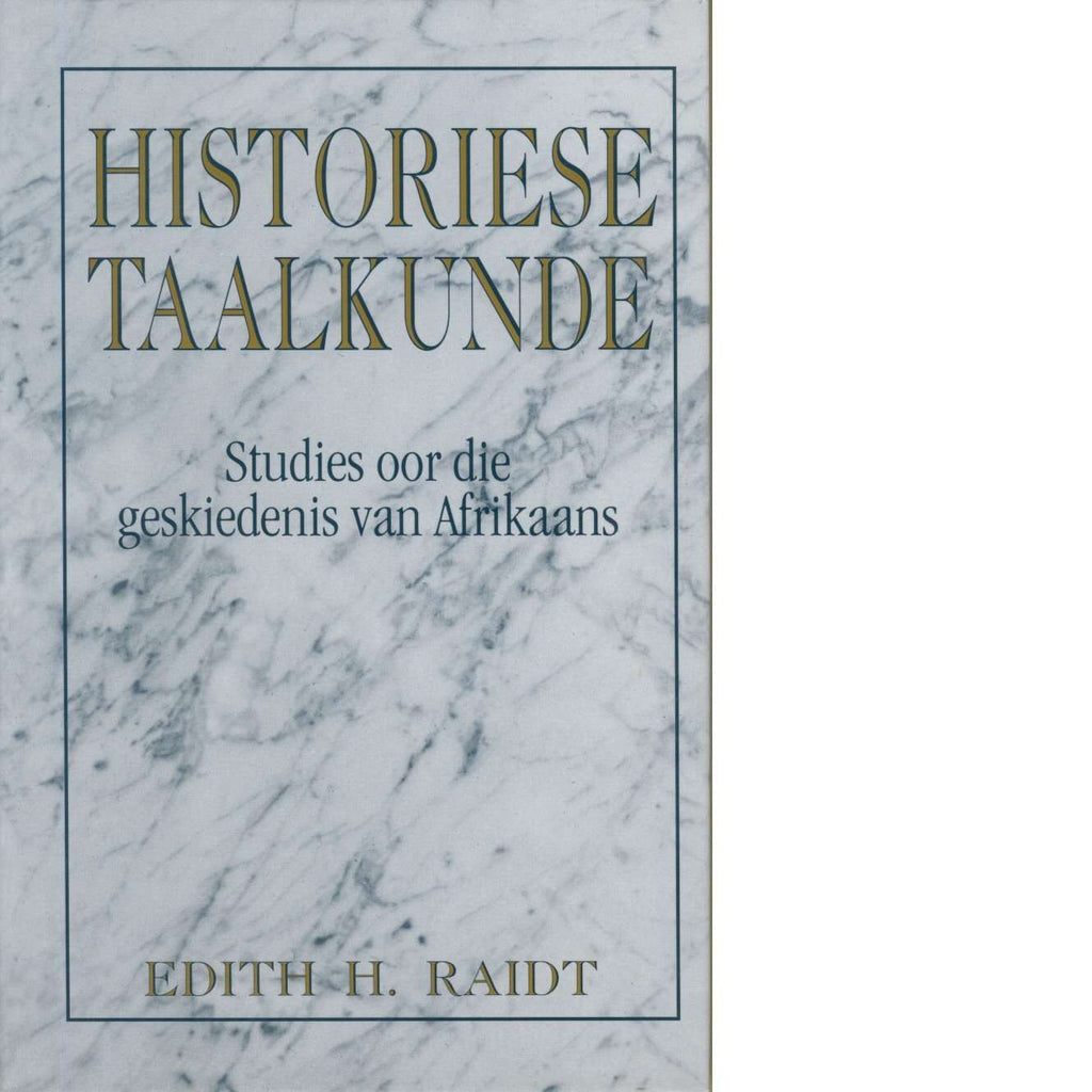 Bookdealers:Historiese Taalkunde