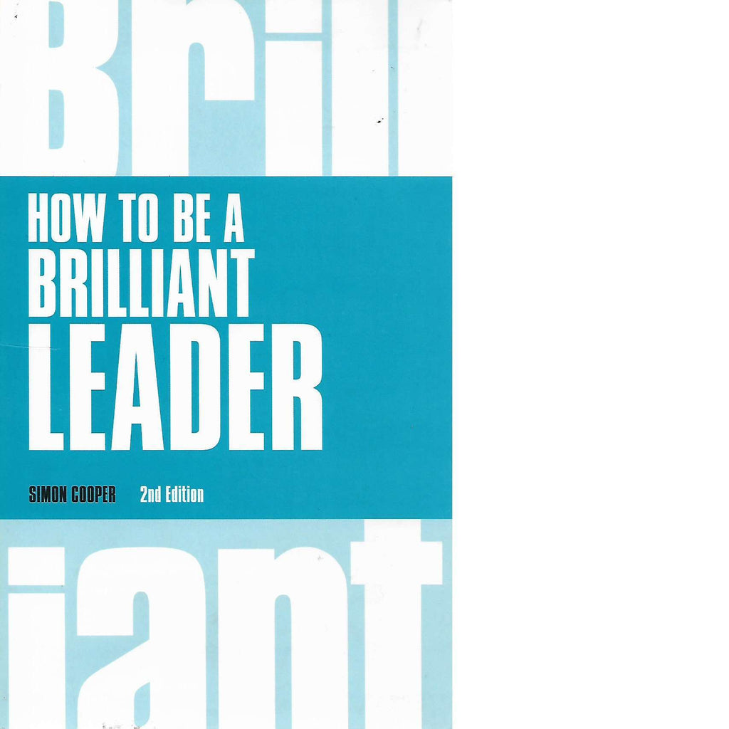 Bookdealers:How to Be a Brilliant Leader | Simon Cooper