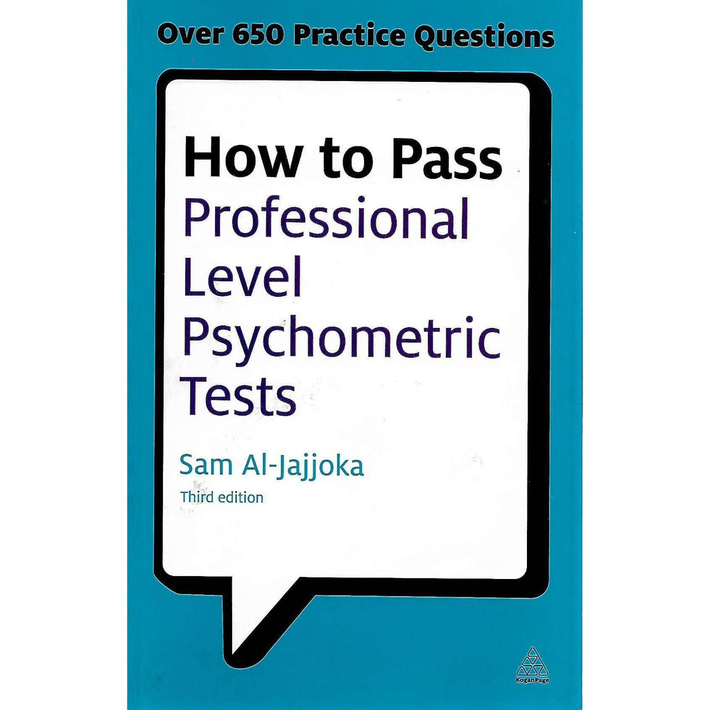 Bookdealers:How to Pass Professional Level Psychometric Tests | Sam Al-Jajjoka