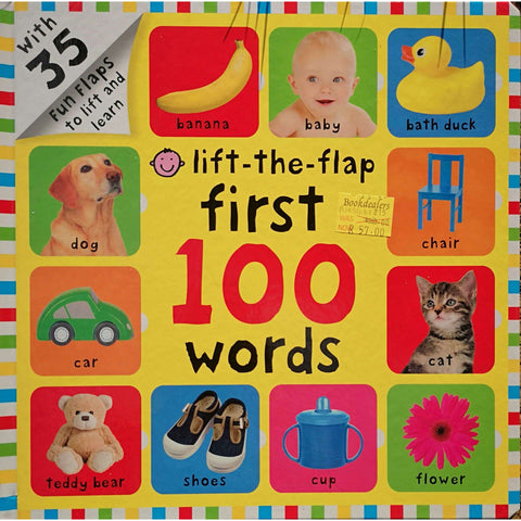 Lift-The-Flap First 100 Words | Roger Priddy