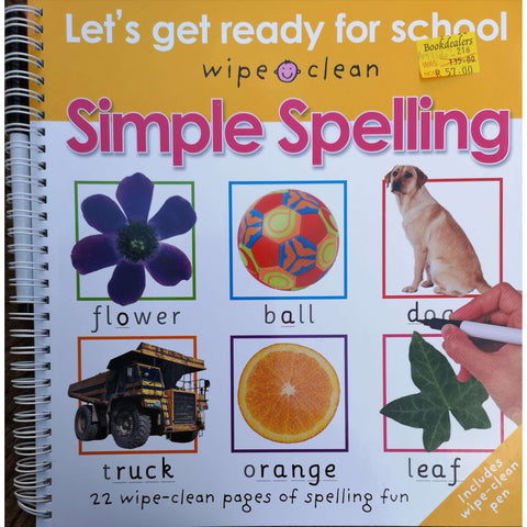 Simple Spelling: Let's Get Ready For School | Roger Priddy