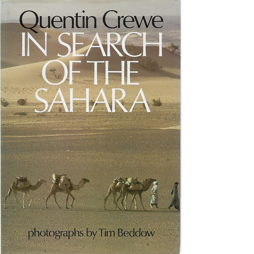 Bookdealers:In Search of the Sahara | Quentin Crewe