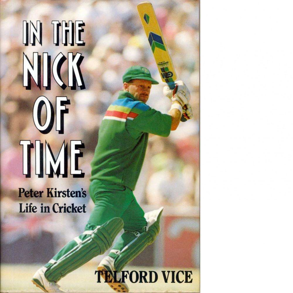 In the Nick of Time (Signed) | Telford Vice
