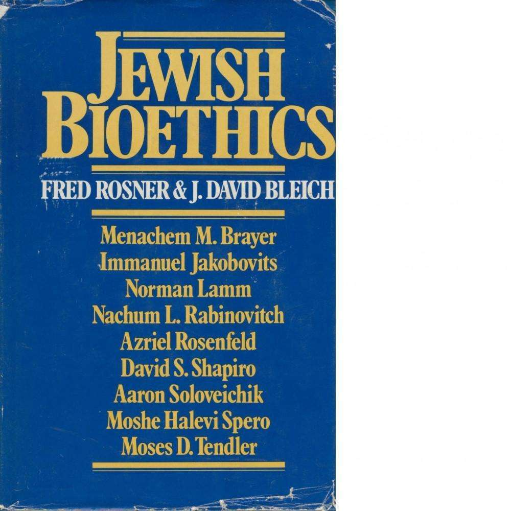 Bookdealers:Jewish Bioethics