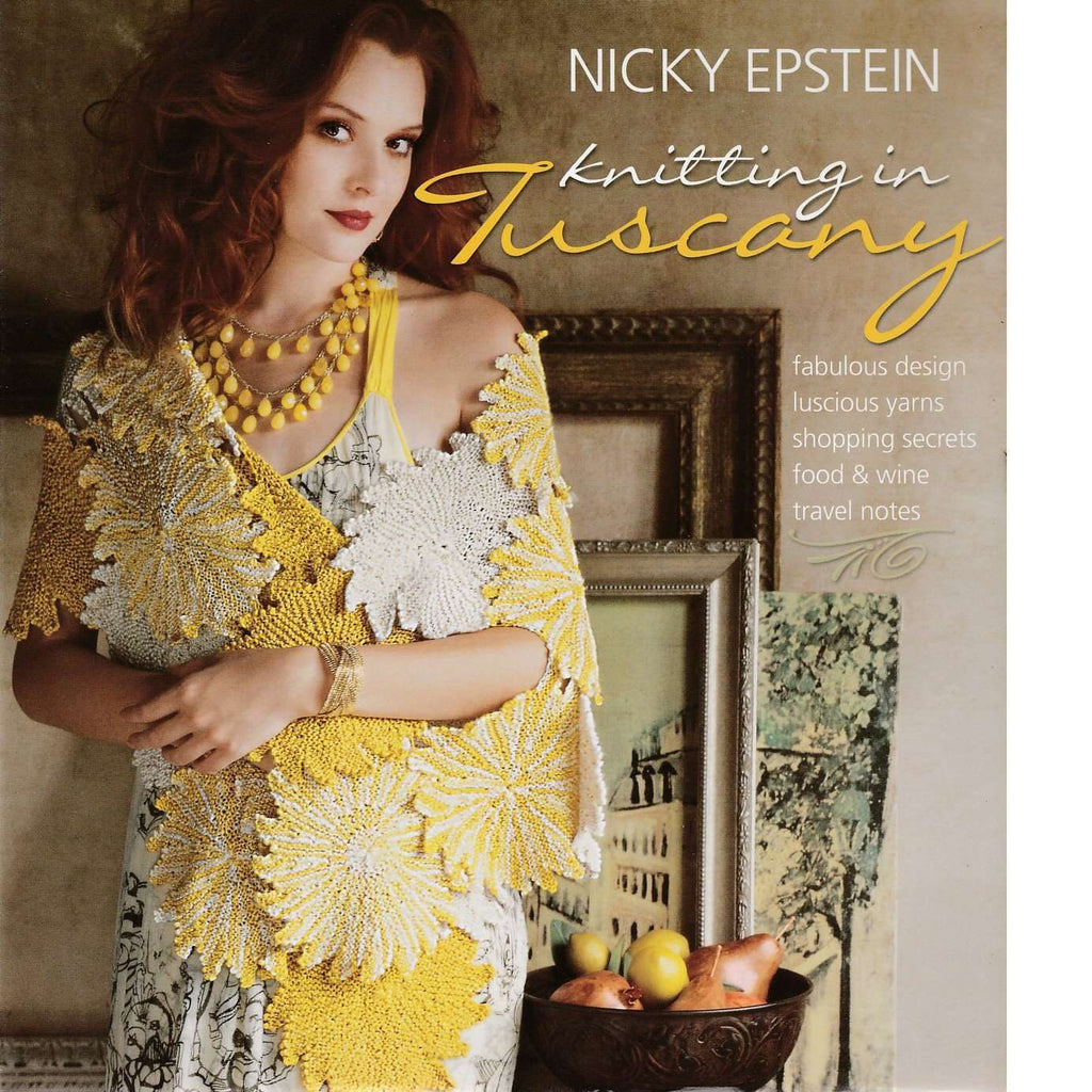 Bookdealers:Knitting in Tuscany | Nicky Epstein