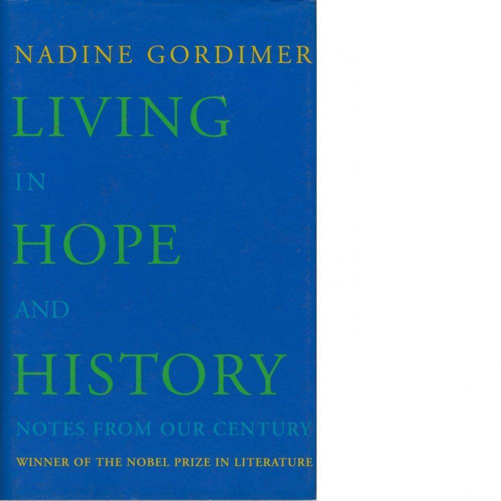 Bookdealers:Living in Hope and History | Nadine Gordimer