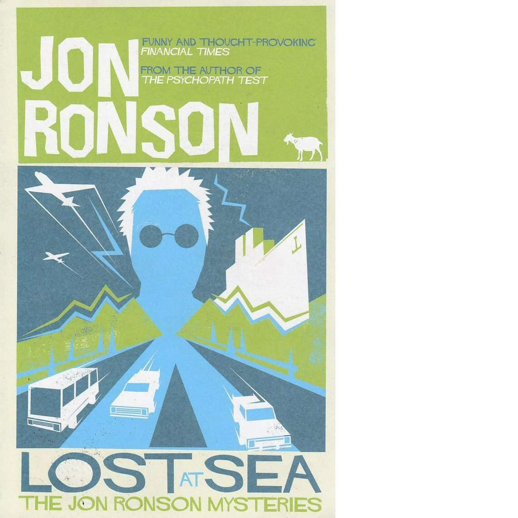 Bookdealers:Lost At Sea | Jon Ronson
