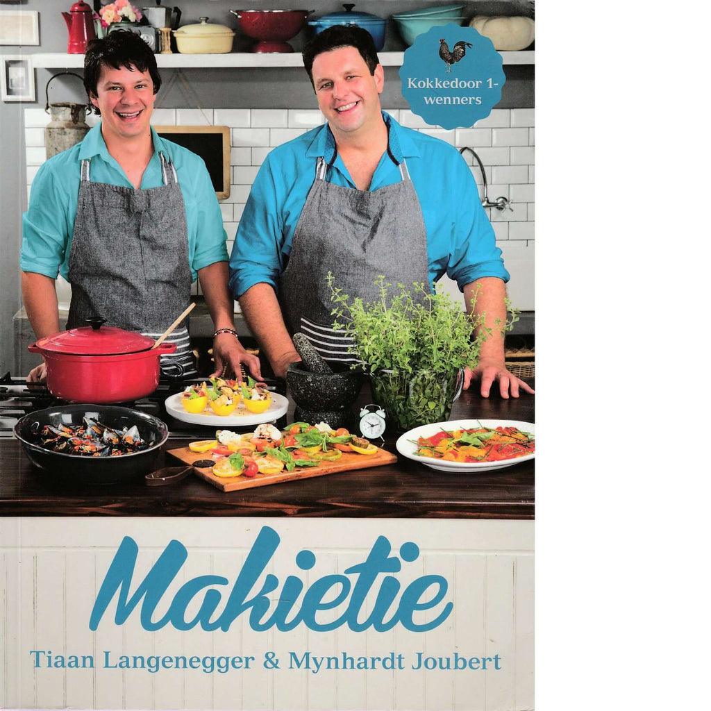 Bookdealers:Makietie | Tiaan Langenegger and Mynhardt Joubert